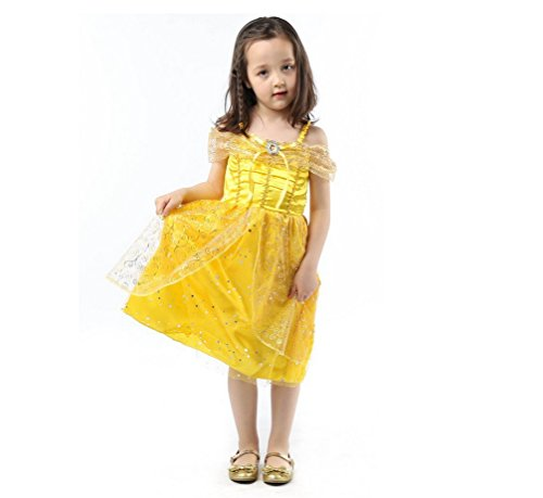 Toddler Halloween Costumes for Girls Belle Halloween Customs for Girls 5t