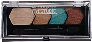 Maybelline New York Eye Studio Color Plush Silk Eyeshadow, Irresistibly Ivy 90, 0.09 Ounce