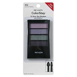 Revlon ColorStay Eye Shadow, 12 Hour, with SoftFlex, Lavender Meadow 352, 16 oz.