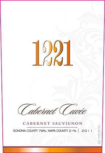 1221 2011 Sonoma Cabernet Cuvee Cabernet Sauvignon 750Ml