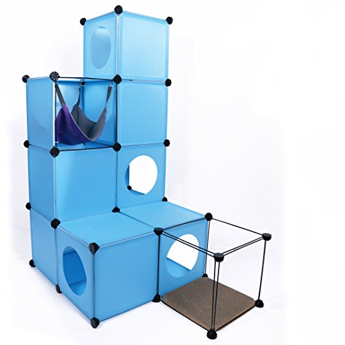 Make A Cat Condo Using Cubes