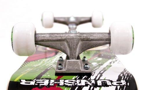 Punisher Skateboards Jinx  Complete 31-Inch Skateboard All Maple