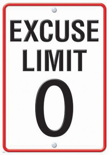 "Trend Enterprises ""Excuse Limit 0"" Posters, Large"