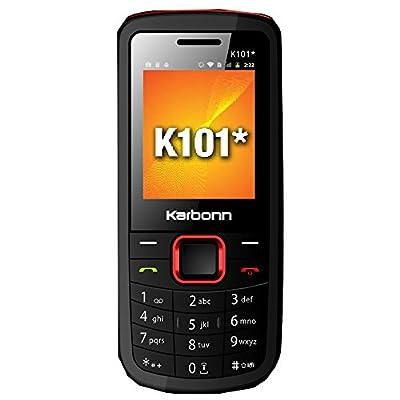 Karbonn K101* (Black-Red)
