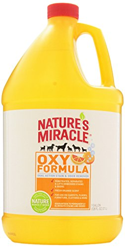 Nature's Miracle Stain & Odor Remover, Orange Oxy, Gallon (5162)