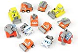 12 Pull Back Construction Truck Toy Vehicles