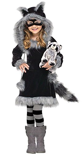[Sweet Raccoon Costume - Small] (Raccoon Girl Costumes)