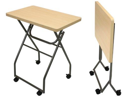 Furinno Folding Multipurpose Personal TV Tray Table Desk, 11043MP