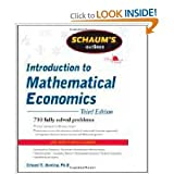 img - for Schaum's Outline of Introduction to Mathematical Economics, 3rd Edition (Schaum's Outline Series3rd (Third) Edition book / textbook / text book