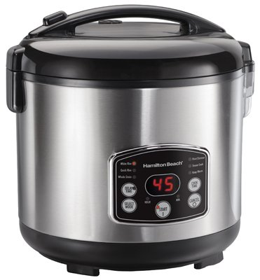 Hamilton Beach Brands 37549 14C Digital Rice Cooker by Hamilton Beach Brands