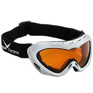 Black Canyon Womens Ski Goggles - Silver Metallic
