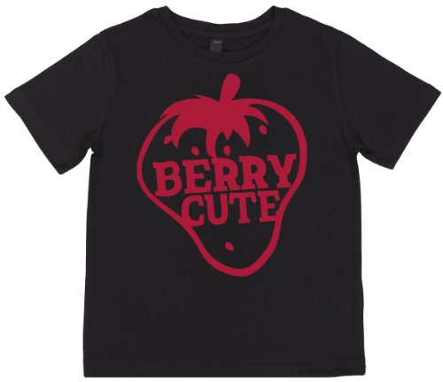 Phunky Buddha - Berry Cute Children'S Top 5-6 Yrs - Black front-730487