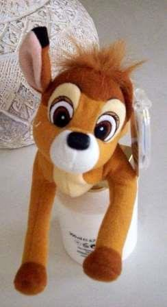 Bambi Bean Bag Plush By Disney Classics Star Bean - 8 Inches - 1