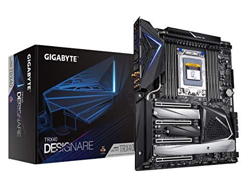 {PD} Gigabyte TRX40 DESIGNARE (sTRX AMD TRX40/Direct 16+3 Phase VRM/Fins-Array Heatsink/Gen 4 AIC with 4 Extra M.2/ XL-ATX/AMD Motherboard) [Personal Computers] [+Peso($65.00 c/100gr)] (US.AZ.629.99-0-B081YW31GR.387)