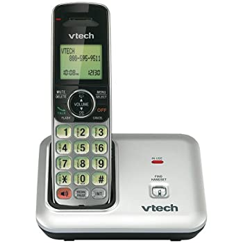 The Vtech CS6419 is a cordless phone ensures interference-free communication always. It features caller ID and selectable ringtones. This phone comes with DECT 6.0 digital technology for high sound quality. This sleek digital cordless phone offers di...