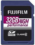 Fujifilm Class 10 SDHC 32GB Speicherkarte