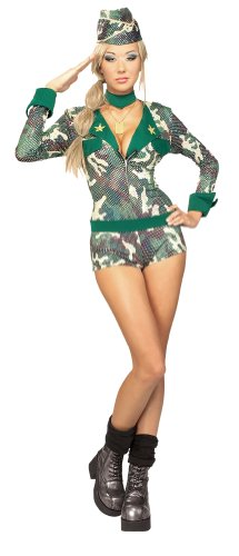 Rubie's Costume Army Girl Women's Costume