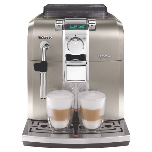 Philips Saeco RI9837/05 Syntia Automatic Espresso Machine, Stainless Steel
