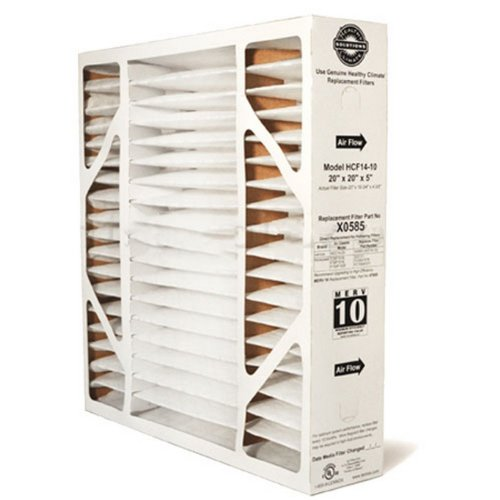 X0585 Healthy Climate Solutions 20X20X5 MERV 10 Filter Media for Lennox and Honeywell Air Cleaners