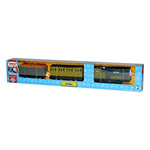 Thomas & Friends - TrackMaster - Dodge with 2 Train Cars: Toys & Games