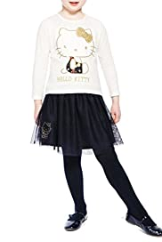 3 Piece Hello Kitty T-Zhirt, Tights & Tutu Skirt Outfit [T77-8287J-Z]