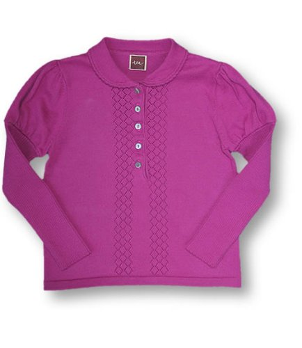Tea Rouge Anna Polo, Knitwear, Girls, 2T