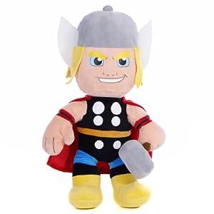 """Marvel Superhero Squad Chunky Thor 10"""" Soft Toy"""
