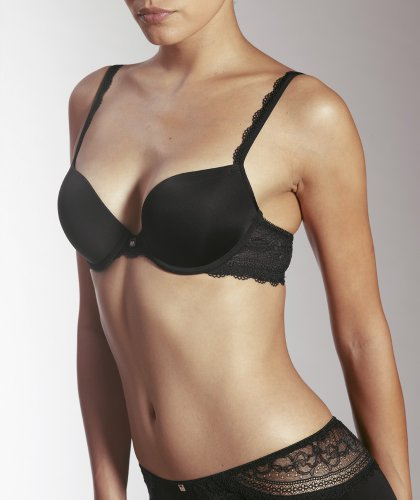 "Mey Dessous ""ALLURE"" Damen Push up-BHs Schwarz 75A"