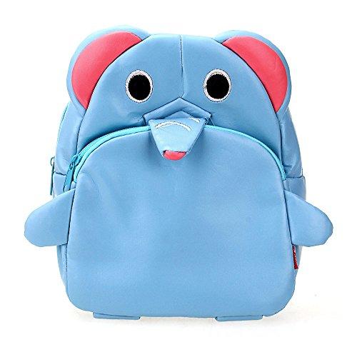 Children Kids Kindergarten Backpack Shoulders School Bag Cute Elephant Shape front-364541