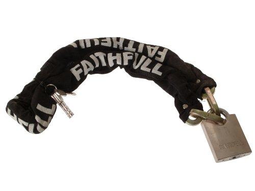 Faithfull 1m Heavy-Duty Chain and Padlock