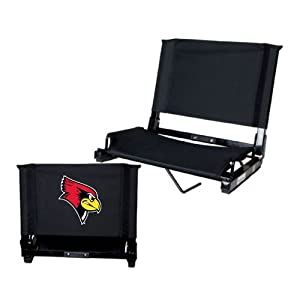 Illinois State Stadium Chair Black