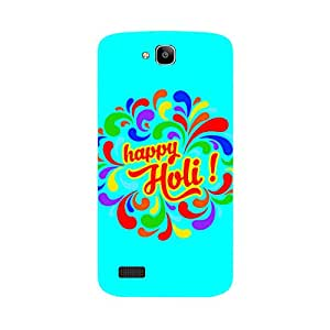 Skintice Designer Back Cover with direct 3D sublimation printing for Honor Holly