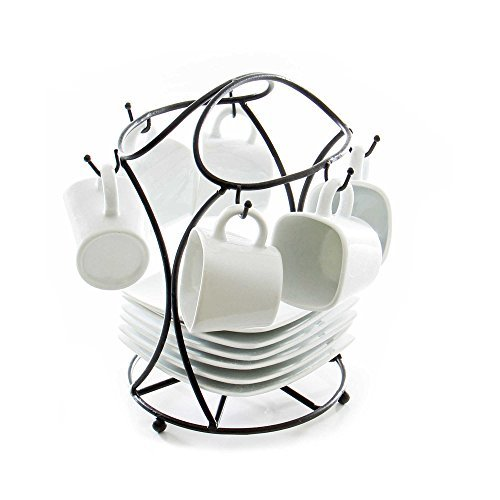 B. Smith 13-Piece Espresso Set with Stand (Espresso Cup Stand compare prices)