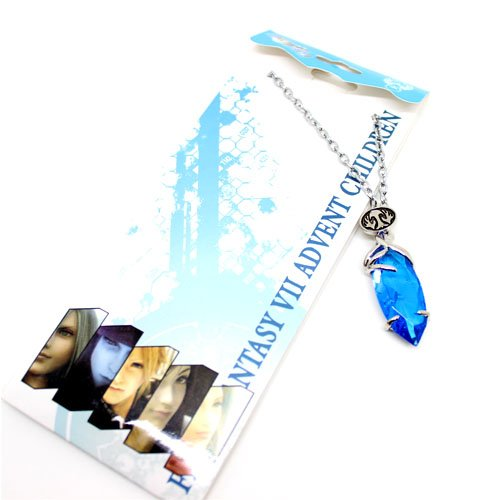 FINAL FANTASY - Advent Child Yuna Kristall Hals-Kette Necklace
