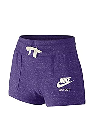 Nike Short Gym Vintage Yth (Morado)