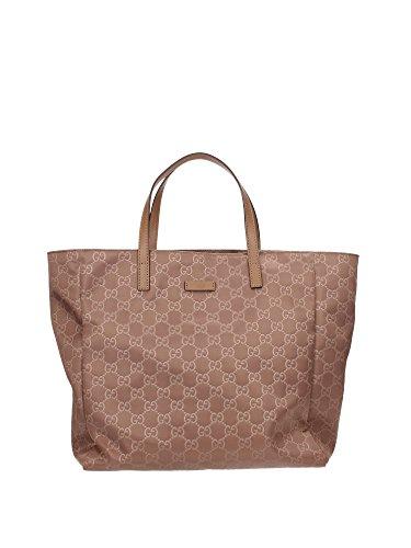 Borse a Mano Gucci Donna Tessuto Marrone Chiaro 282439KBT1G2527 15x29x31 cmEU