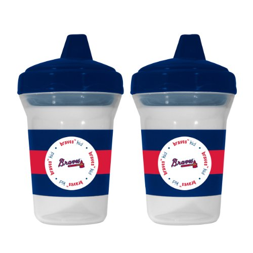 Mlb Atlanta Braves Sippy Cups, 2-Pack front-993685
