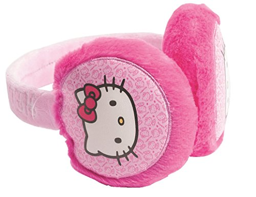 [Official Licensed Hello Kitty Pink Earmuffs - Licensed Merchandise] (Hello Kitty Ears)
