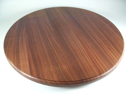 30 Walnut Wood Lazy Susan