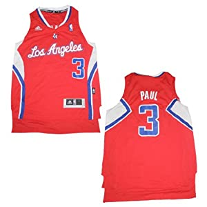 NBA LOS ANGELES CLIPPERS PAUL #3 Youth Athletic Jersey Top with Embroidered Logo... by NBA