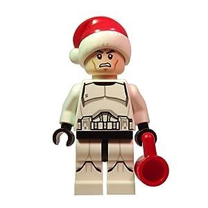 Lego Star Wars Santa Hat Clone Trooper Minifigure from Set 75056 ...