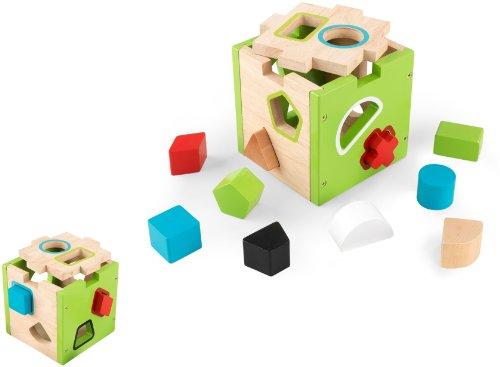 KidKraft Shape Sorting Cube - 1