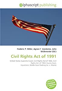 Civil Rights Act Of 1991 United States Supreme Court