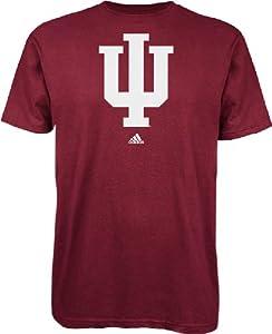 Buy Indiana Hoosiers adidas Victory Red School Logo T-Shirt by adidas