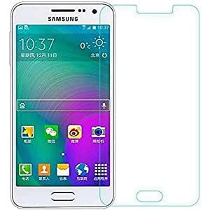 SNOOGG Pack of 6 Samsung Galaxy A3 Full Body Tempered Glass Screen Protector [ Full Body Edge to Edge ] [ Anti Scratch ] [ 2.5D Round Edge] [HD View] - White