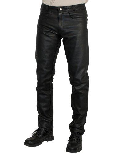 Roleff Racewear 262 Pantalon Cuir, Noir, 62