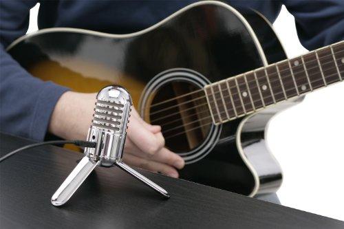 Samson Meteor Mic USB Studio Microphone (Chrome) - 3