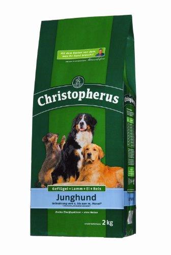 Allco 36075 Christopherus Junghund Geflügel,Lamm, Ei und Reis 15 kg