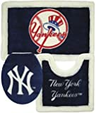 New York Yankees 3 Piece Bath Rugs at Amazon.com