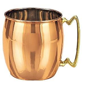 Taza de cobre - Old Dutch International Moscow Mule 16-Ounce Copper Mug. Precio: $14.74